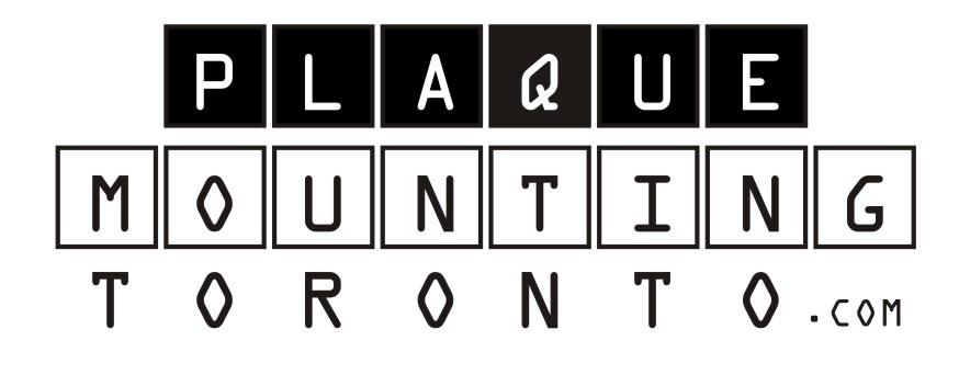 Plaque Mounting Toronto